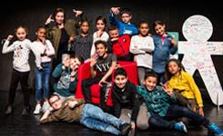 Dansfeest Jeugdboekenmaand 2019 met Junes in bib Permeke