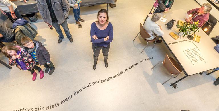 Maud Vanhauwaert te gast in bib Driehoek