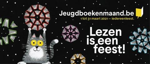 Banner Jeugdboekenmaand © Leo Timmers